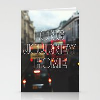 Long Journey Home Stationery Cards