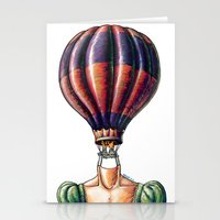 Think Freely & Bit Simpler Stationery Cards