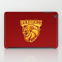 Casterly Rock Gold Lions iPad Case