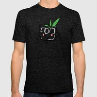 Mint Julep Mens Fitted Tee Tri-Black SMALL