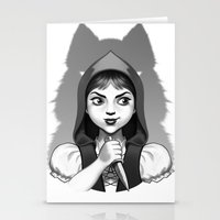 Little Red Riding Hood's Surprise Stationery Cards