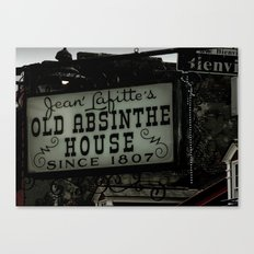 Old Absinthe House - NOLA Canvas Print