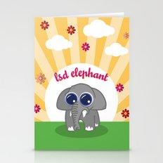 LSD Elephant Stationery Cards
