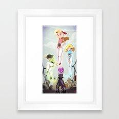 Powerpuff Girls Framed Art Print