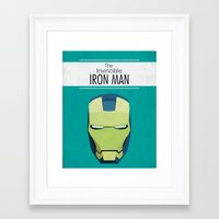 The Invincible Iron Man Framed Art Print