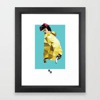 Jessie Pinkman // Breaking Bad Framed Art Print