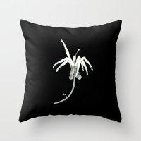 Imaginary Flower Throw Pillow