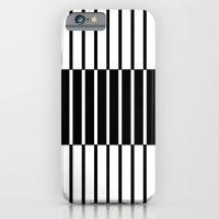 Zebras Play Piano Duet iPhone 6 Slim Case