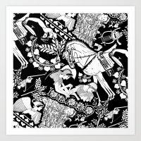 Alcinous Art Print