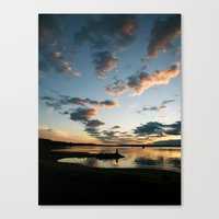 Lake Huron Sunrise II Canvas Print