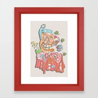 ralph Framed Art Print