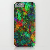 iPhone Cases featuring Autumn in the Garden by Klara Acel