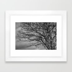 Magical In Black and White Framed Art Print