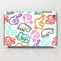 Crayon Love: Dragons iPad Case