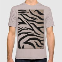 Tyger Stripes Mens Fitted Tee Cinder SMALL