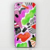 Vibrance Watercolour  iPhone & iPod Skin