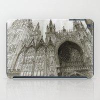 Rouen facade iPad Case