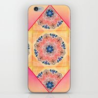 Roses in abstact iPhone & iPod Skin