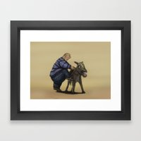 A Means Of Transportatio… Framed Art Print