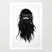 It Girl Art Print