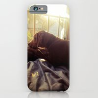 iPhone & iPod Case featuring Sitting by the Evening Sun by Sara Miller