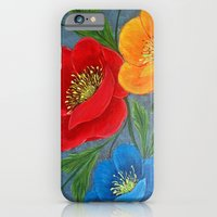 Poppies-3 iPhone 6 Slim Case