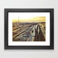 port of oakland  Framed Art Print