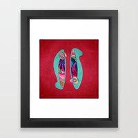 Shoes for Spring Framed Art Print