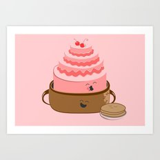 How Pancake Started Art Print