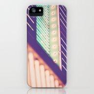 Turquoise Neon iPhone (5, 5s) Slim Case