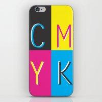 CMKY iPhone & iPod Skin