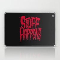 Stuff Happens Laptop & iPad Skin