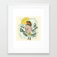 Take Those Dreams Framed Art Print