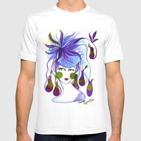 Cocotte Nepenthes Mens Fitted Tee White SMALL