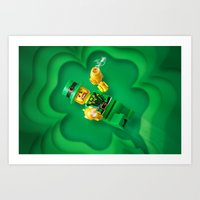 Your Luck Just Ran Out Art Print