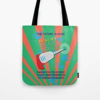The Galactic Atomizer Tote Bag