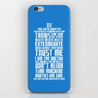 Tardis iPhone & iPod Skin
