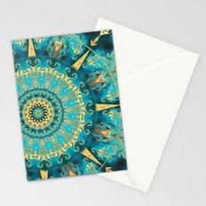 Caribbean Gold Mandala Stationery Cards