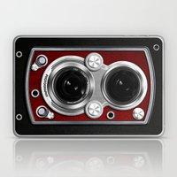 Vintage Camera Red Laptop & iPad Skin