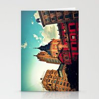 Madrid Sky Stationery Cards
