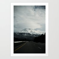 mount (California)  Art Print