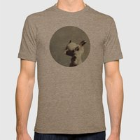 Kitten Mens Fitted Tee Tri-Coffee SMALL