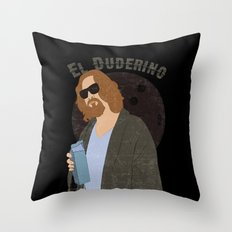 El Duderino Throw Pillow