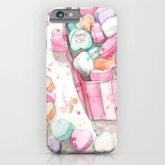 Conversation Hearts iPhone 6 Slim Case