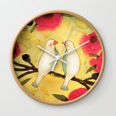 les poetes Wall Clock