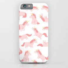 unicorn madness iPhone 6 Slim Case