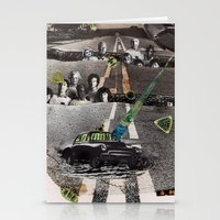 Strange Angels | Collage Stationery Cards