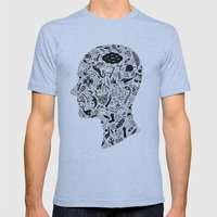 It's All In My Head Mens Fitted Tee Athletic Blue SMALL
