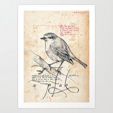 Bird 02 Art Print