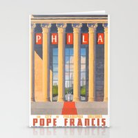 Philadelphia Welcomes Pope Francis Stationery Cards